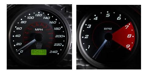 Automotive Gauges from Caerbont Automotive Instruments