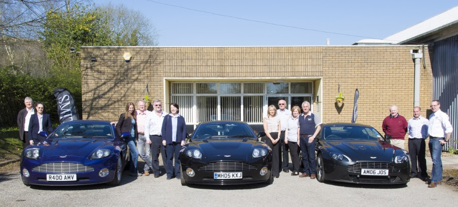 Aston Martin Owners Club Visit CAI