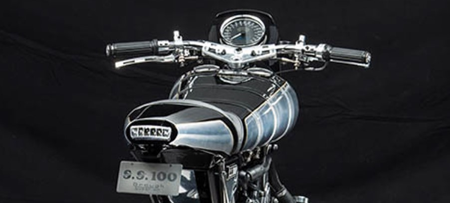 The New Brough SS100 Motorcycle Gauges