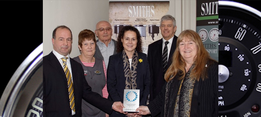 Caerbont Automotive Instruments Awarded the Investors in People Standard