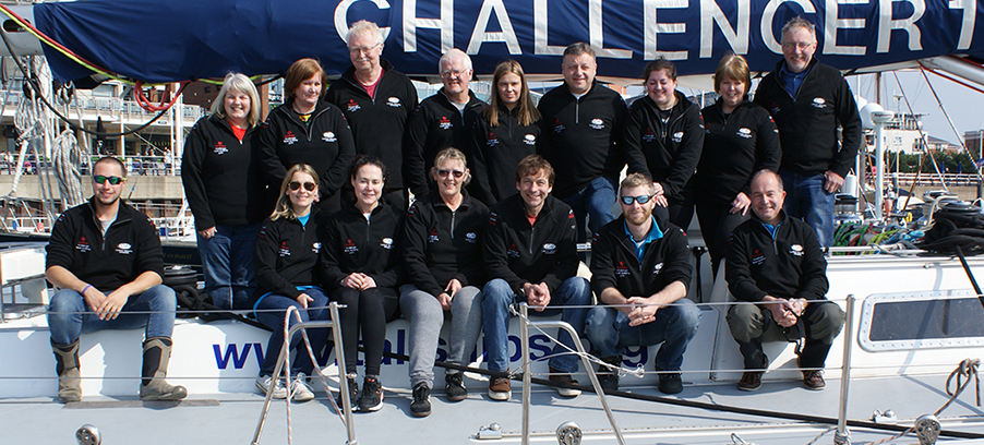 Challenger Yacht Team Building