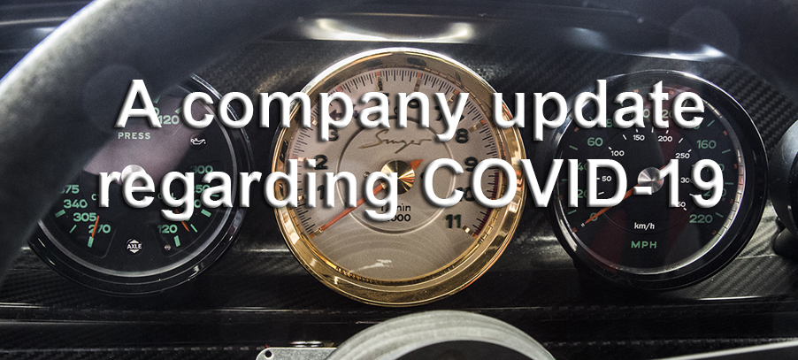 A Company update regarding COVID-19