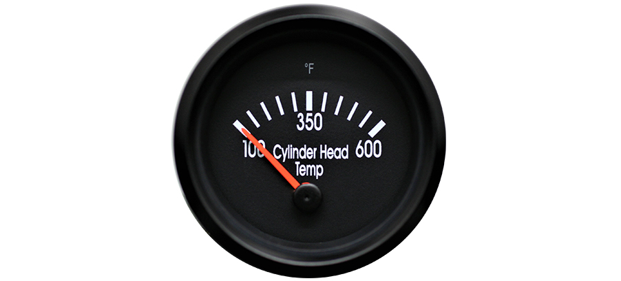 New Cylinder Head Temperature Gauge