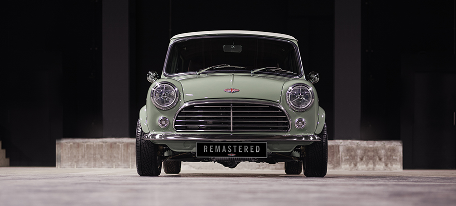 David Brown Automotive Mini Remastered Features SMITHS Gauges