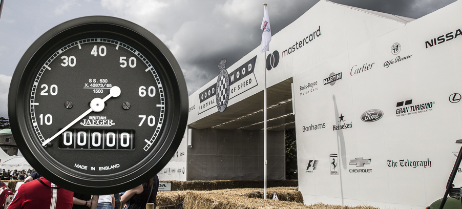 Gauging Speed at Goodwood Festival of Speed