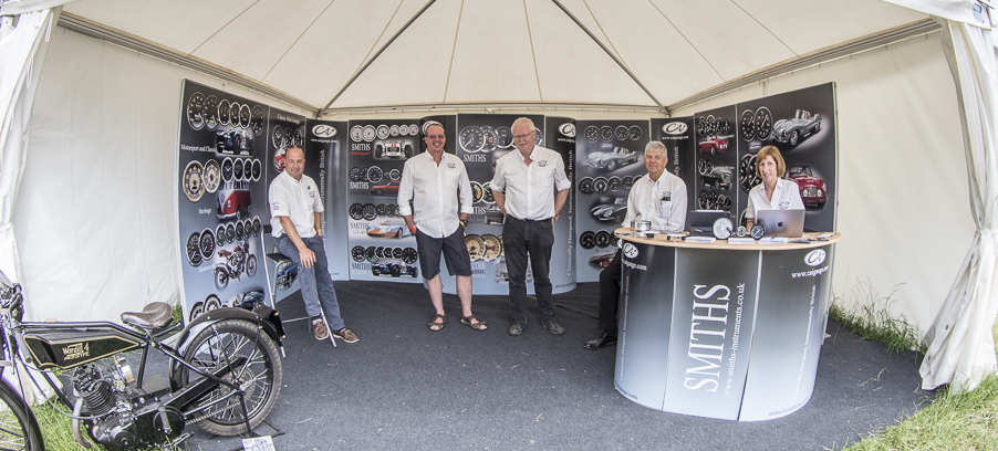 Goodwood Festival of Speed Showcase for SMITHS Instruments