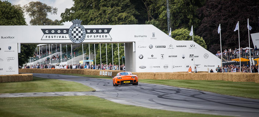 SMITHS Gauges On Show At Goodwood Festival of Speed 2017