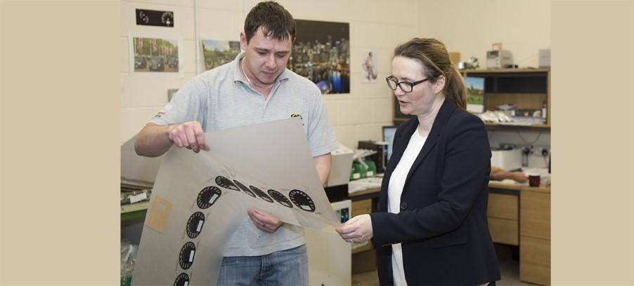 Kirsty Williams AM Visits Caerbont Automotive Instruments