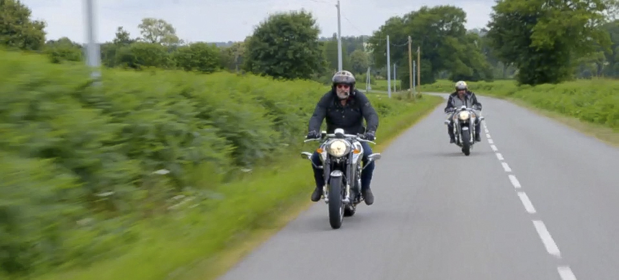 Gauges for Midual Motorcycle star in BBCs Hairy Bikers