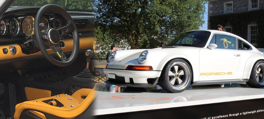 Singer Porsche 911 DLS Features SMITHS Gauges