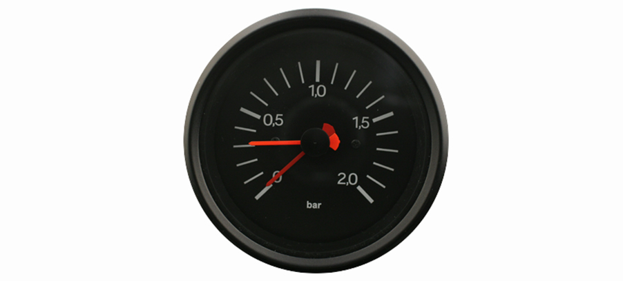 New SMITHS International Dual Needle Boost Gauge