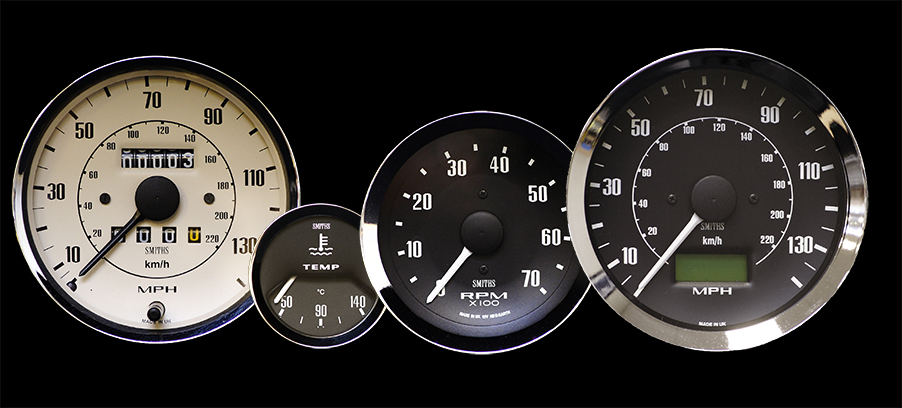 SMITHS Gauges at Classic Motor Show