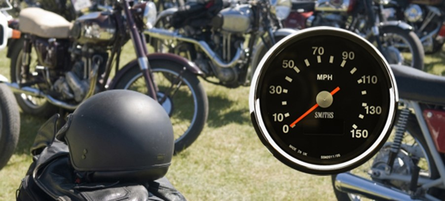 Motorcycle Gauges on Show at Carole Nash Motorcycle Mechanics Show