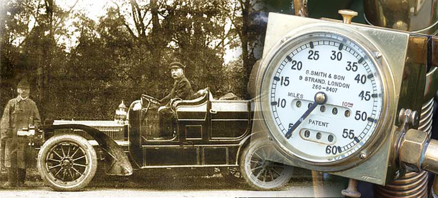 Top 10 SMITHS Speedometer Customers 1904-1905
